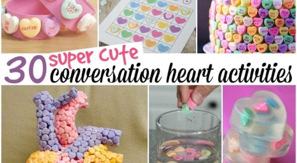 30 super cute conversation heart activities