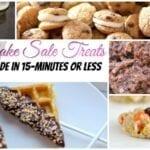 Bake Sale Treats Fast Easy Feature w txt