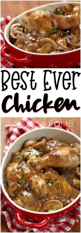 This is the best chicken recipe you'll ever make, it'll be an instant staple in your dinner routine