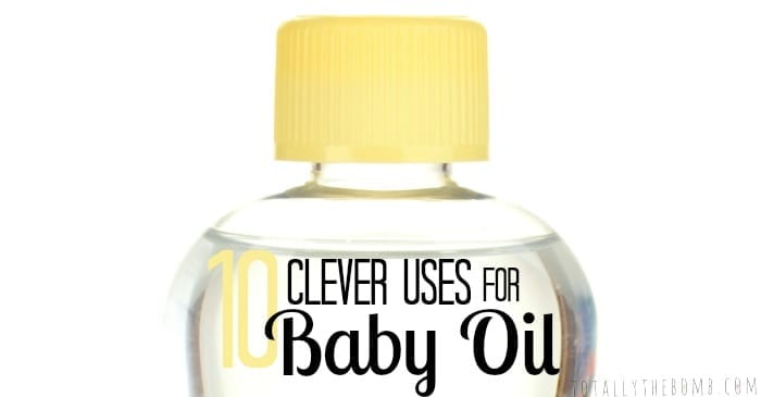 Clever Uses Hack Tip Trick for Baby Oil FB