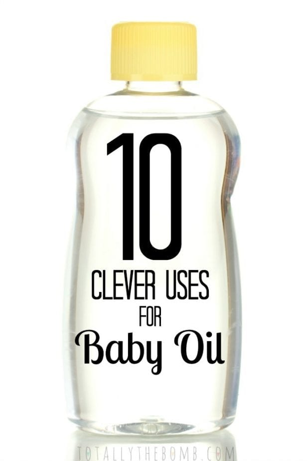 Clever Uses Hack Tip Trick for Baby Oil Pin