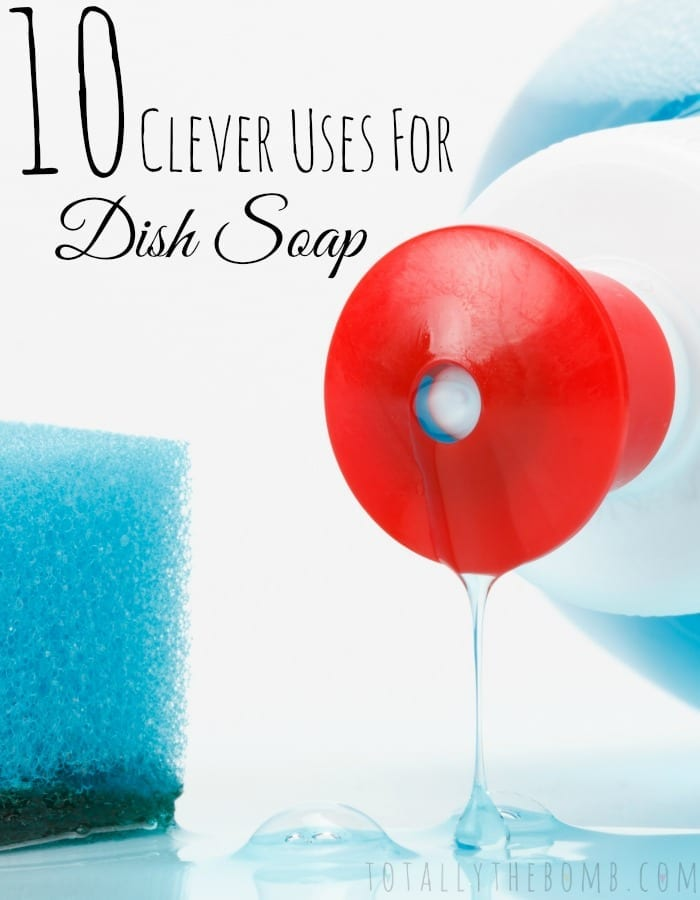 Clever Uses Hack Tip Trick for Dish Soap Pin