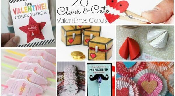 Crafty Cute Easy Valentine Card set Feature w txt