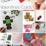 Crafty Cute Easy Valentine Card set pin w txt