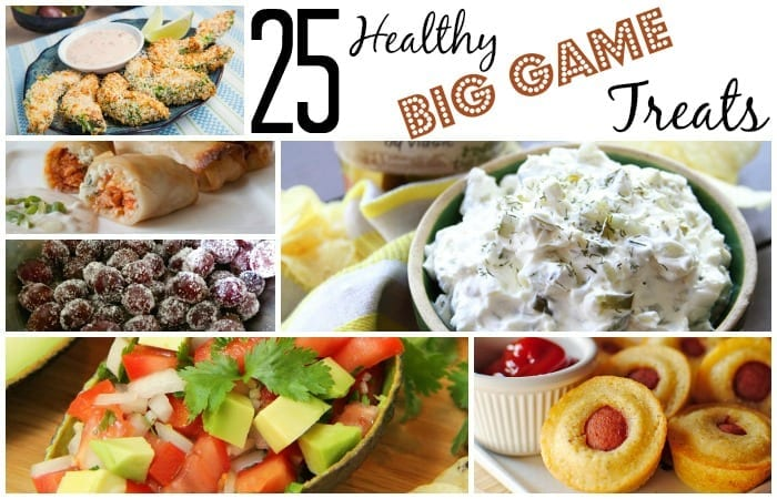 25 Healthy Big Game Treats