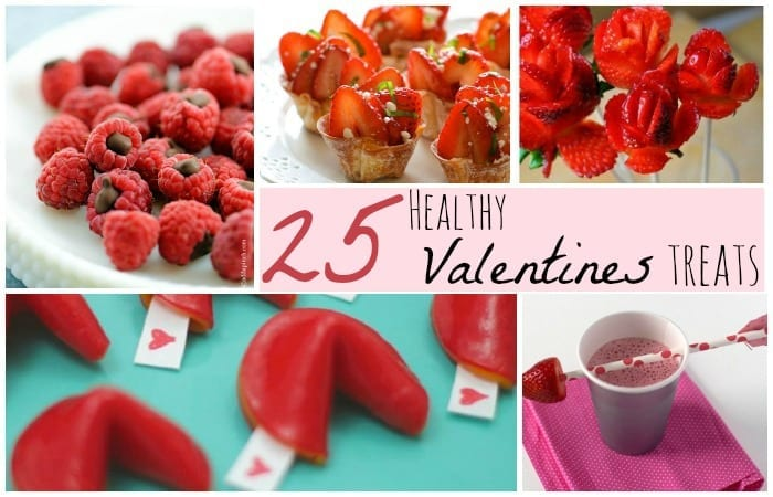 25 healthy valentine treats - Valentine Snacks For School