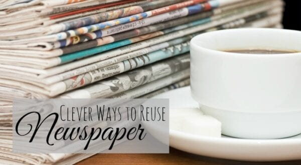 Reuse Newspaper