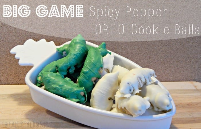Spicy Pepper OREO Cookie Balls