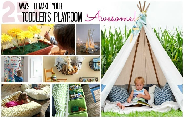 Playrooms For Toddlers Classy 25 Ways To Make Your Toddler's Playroom Awesome
