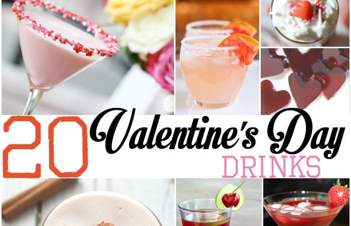 valentines day drinks