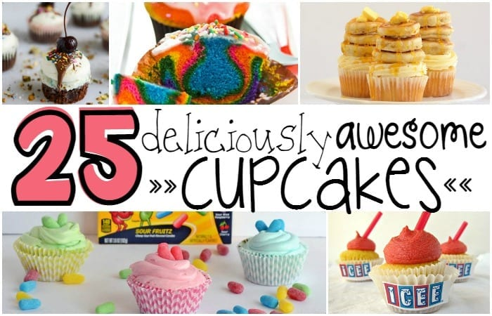 25 Deliciously Awesome Cupcakes