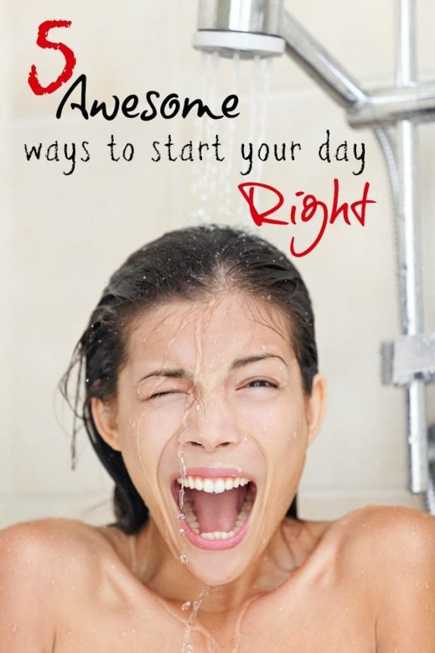 Awesome Ways to Start the Day Right Pin