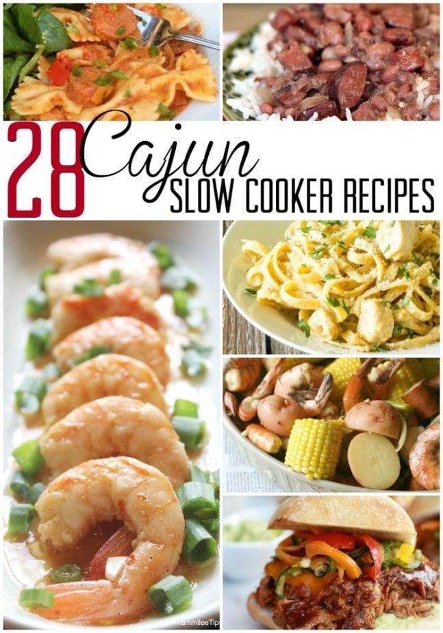 Cajun Slow Cooker recipe PIN w txt