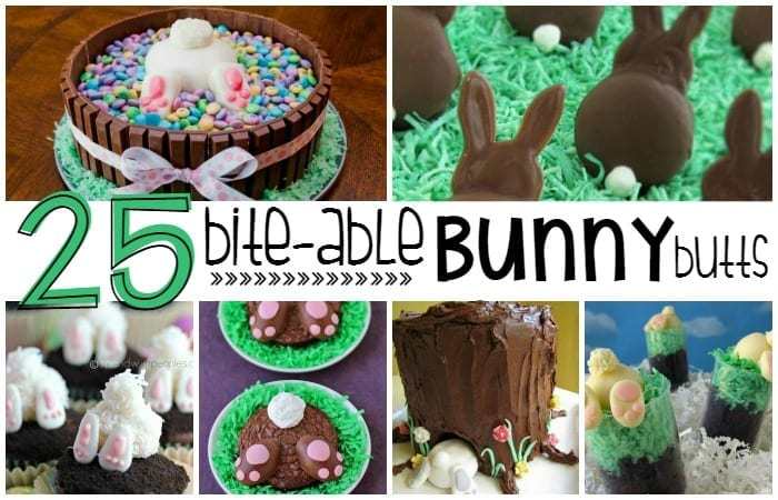 Adorable Edible Bunny Butts Perfect for Easter!