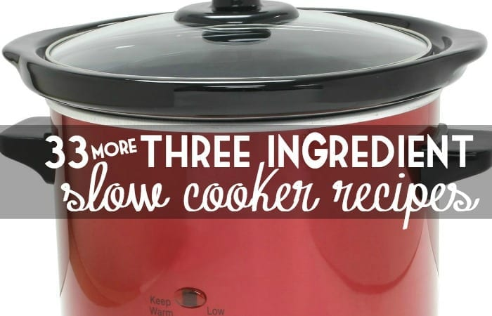 three ingredient slow cooker recipes facebook