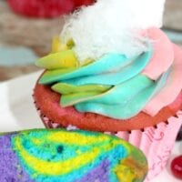 Make Unicorn Poop Cupcakes