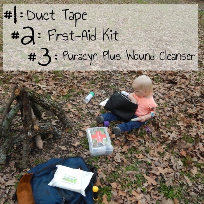 3 things I pack to camp with kid
