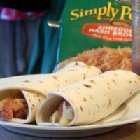 Potato, Sausage and Ranch Burritos {and a giveaway}