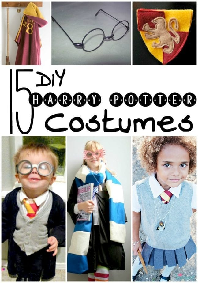 Harry Potter Costume DIY pin