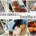 10 Lessons Learned as a Toddler's Mom
