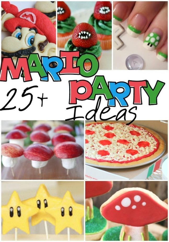 Nintendo Party Ideas Pin