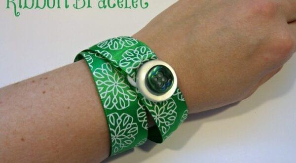 Ribbon Bracelet DIY