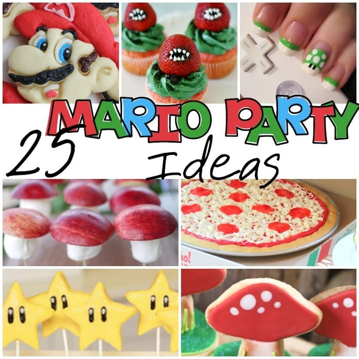 Super Mario Brothers Party DIY sq