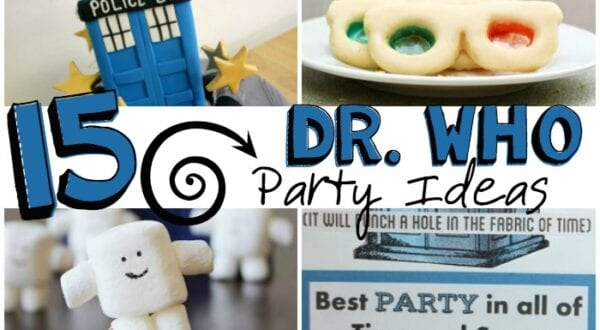 The Doctor party ideas feature