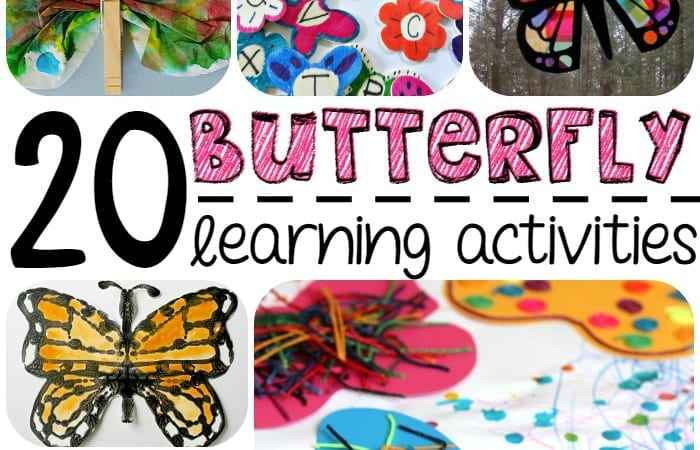 10 Butterfly Learning Activities