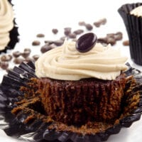 Mocha Cupcakes with Irish Cream Frosting