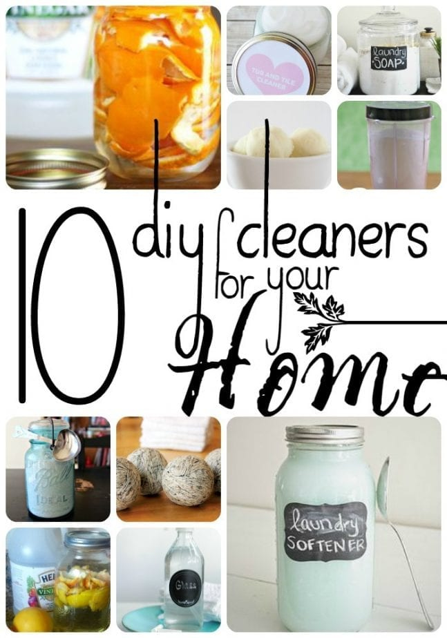 10 diy cleaners for your home