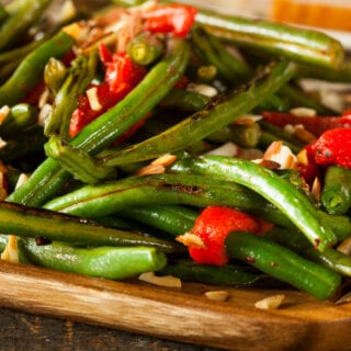 Pan Fried Green Beans Almondine
