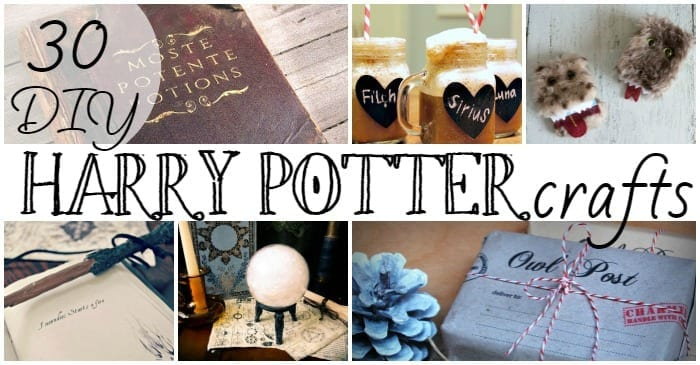 30 diy harry potter crafts solutioingenieria Images