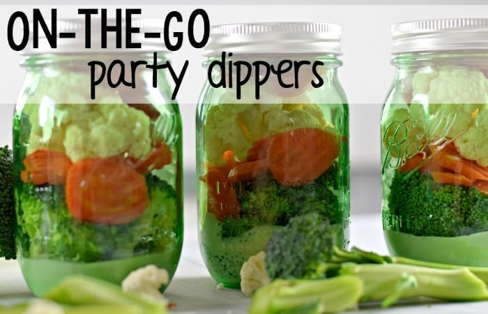On-The-Go Party Dippers With Ranch Dressing {And a Giveaway}