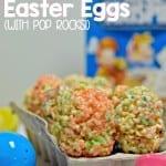 rice krispies easter eggs with pop rocks