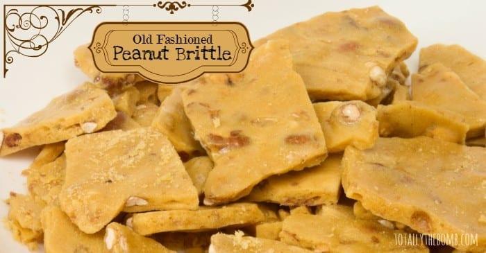 Old Fashioned Peanut Brittle