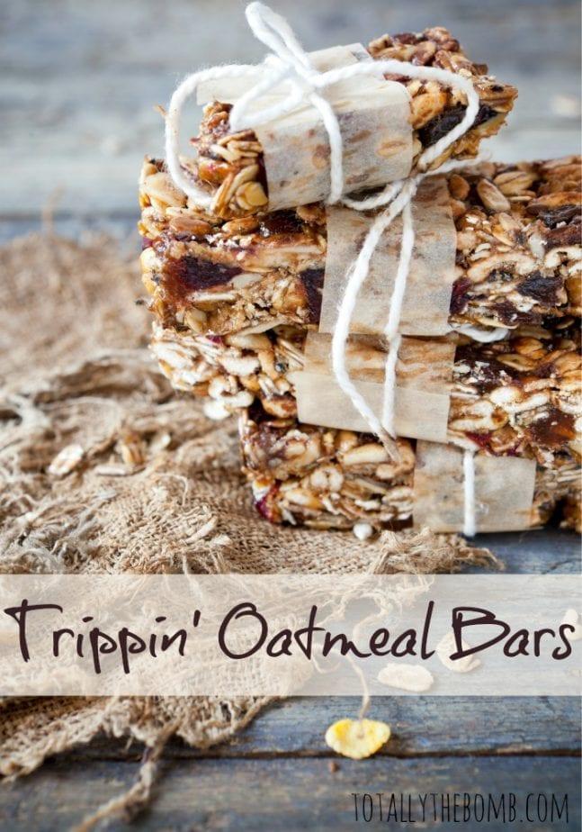 Trippin Oatmeal Bars