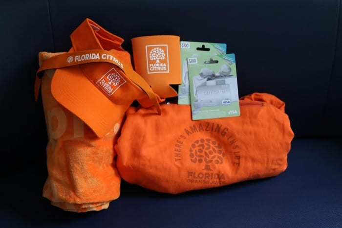 Orange Juice Giveaways