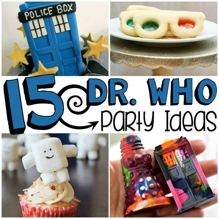 15 Doctor Who party ideas