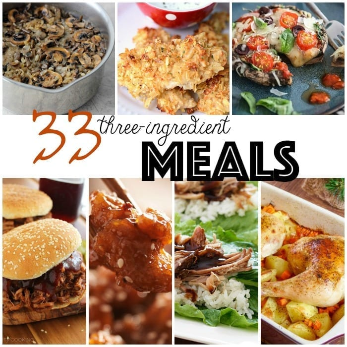 33 3 ingredient meals 3 ingredient recipes sq forumfinder