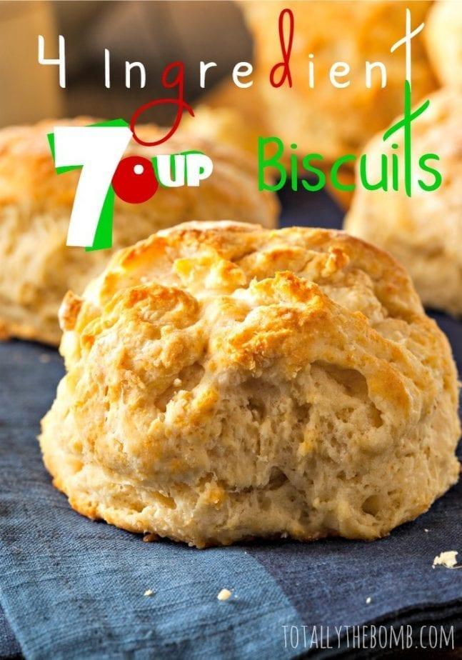 4 Ingredient 7up Biscuits