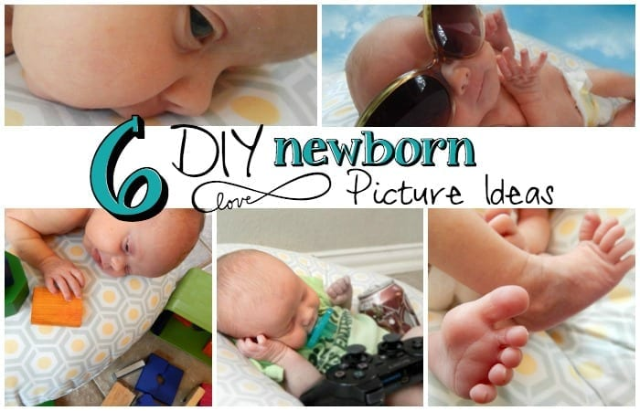 6 cool diy newborn picture ideas