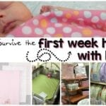 How to Survive the First Week Home with Baby