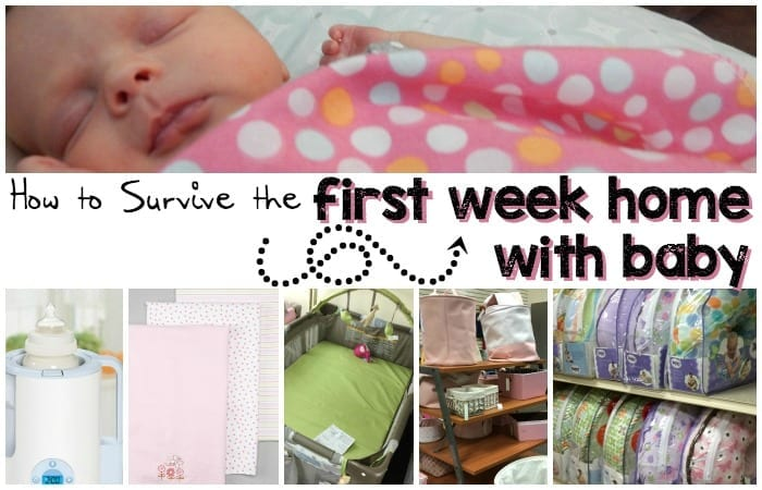 How to Survive the First Week Home with Baby feature