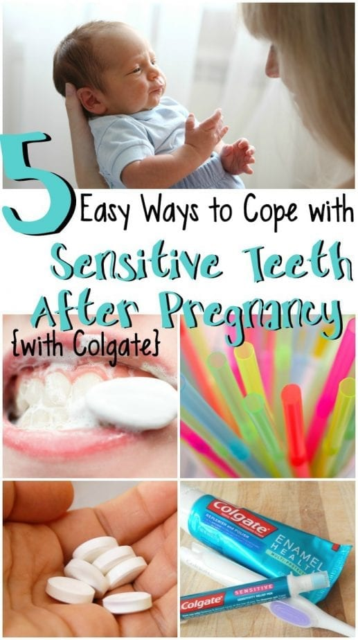 Relieve Sensitive Teeth after pregnancy pin