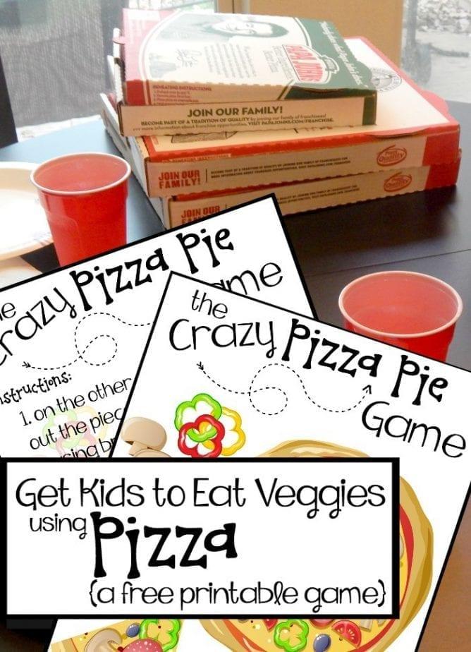 fun way to get kids to try veggies pin