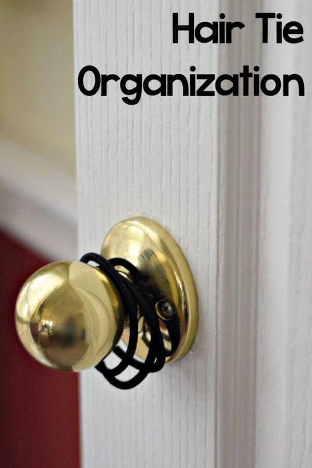 hair tie organization