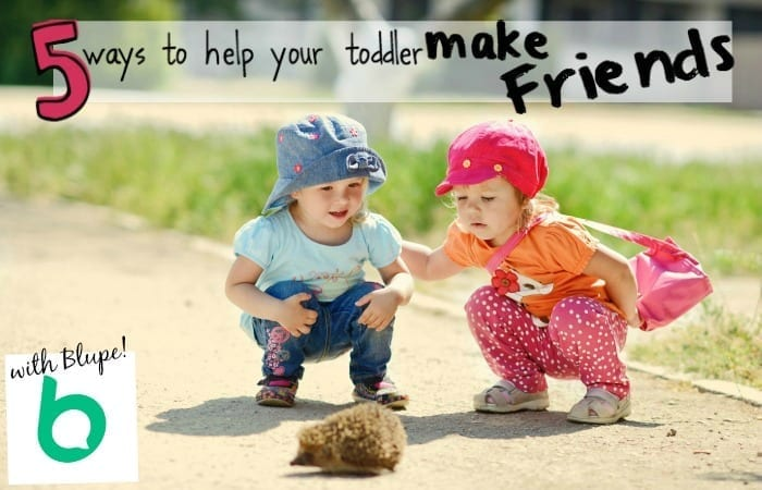 5 Ways to Help Your Toddler Make Friends