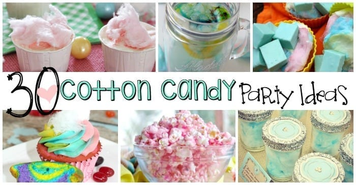 ideas for a cotton candy birthday