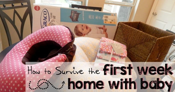 make first week home with baby easy sq